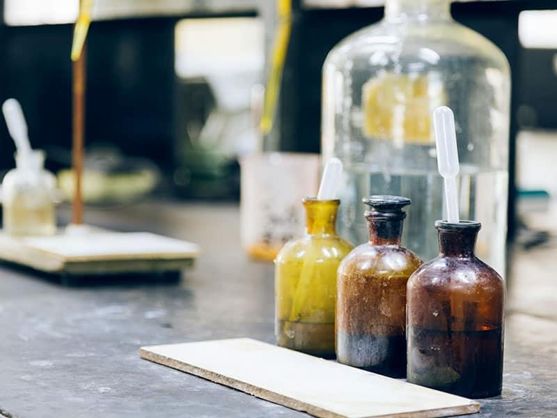 Prelievo di campioni e verifica dei parametri chimico-fisici dei suoli
