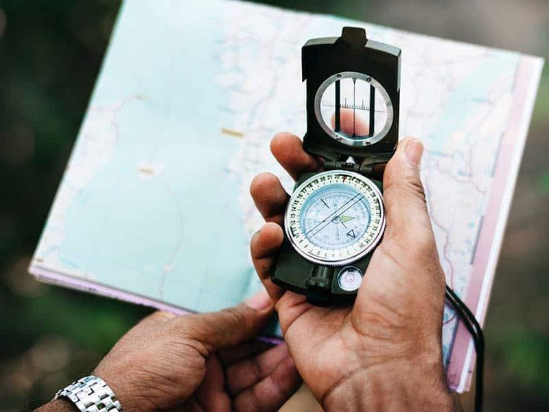 Cartografia geologica con bussola